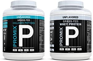 Promix Nutrition Grass-Fed Whey + Grass Fed Collagen Bundle