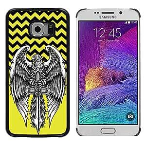 Dragon Case - FOR Samsung Galaxy S6 EDGE - Will is power - Caja protectora de pl??stico duro de la cubierta Dise?¡Ào Slim Fit