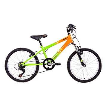 Raleigh Extreme Viper 20 Inch Wheel /11 Inch Frame Mountain Bike ...
