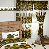 Army Camp Camouflage Lined Curtains 54'