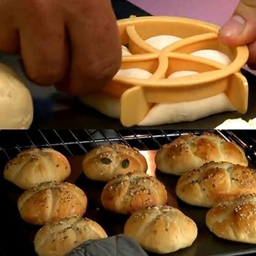 Pan molde cortador de repostería en forma de ventilador masa para ...