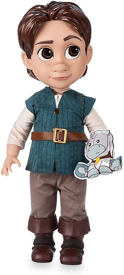 Disney Store Animators Collection Flynn Rider Doll 16 inch Pet Tangled 2018 NEW