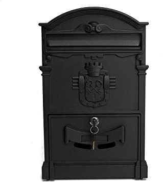 Europe Style Iron Wall Hanging Mailbox Deposit Box for home Improvement
