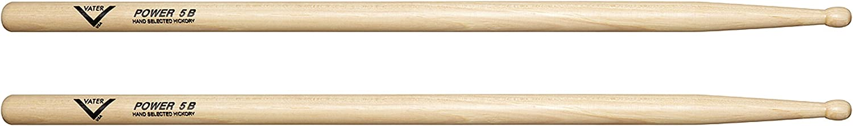 Palillos de bateria   Vater Power 5B de madera ( 1 par)