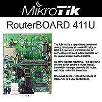Mikrotik RB411U RouterBoard 300MHz USB slot RouterOS L4