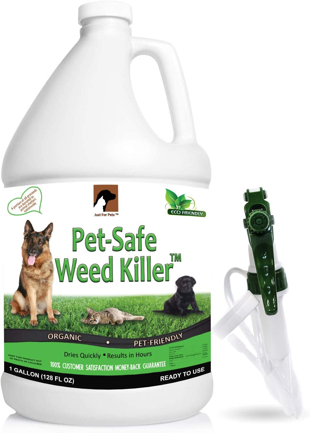 Just For Pets Weed Killer Spray