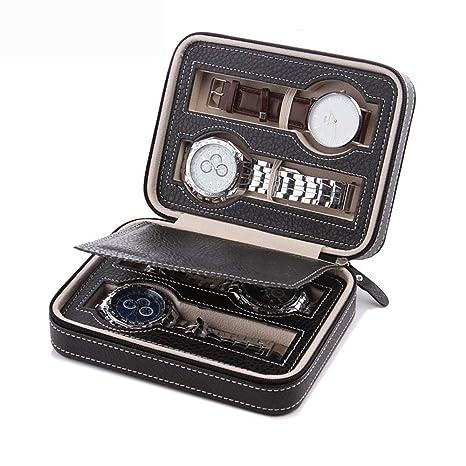 Amazon.com: CraftEarth - Estuche portátil para reloj de ...