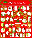 Christmas Gift Tags - 117 Assorted Designs [72 Pieces] - Product Description - Xmas Gift Tags - 117 Assorted Designs - Self Seal - Easy To Use. - Very Good Quality. ...
