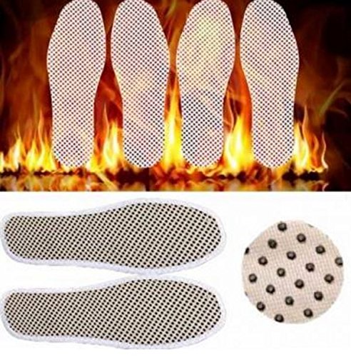 Size : 39 Tourmaline Self Heated Heating Magnetic Foot Massage Insole Far Infrared Warm Shoe Pad by STCorps7