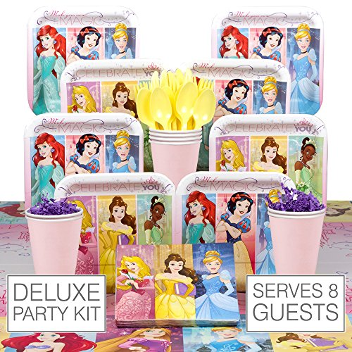 Disney Princess Deluxe Kit (Serves 8) - Party Supplies