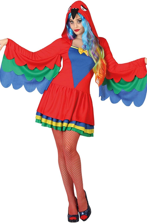Atosa-26927 Disfraz Loro, Color rojo, M-L (26927: Amazon.es ...