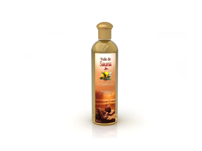 Camylle - Voile de Sauna - Solution à base d'huiles essentielles pour sauna – Cajeput/Citron - Stimulant – 250ml