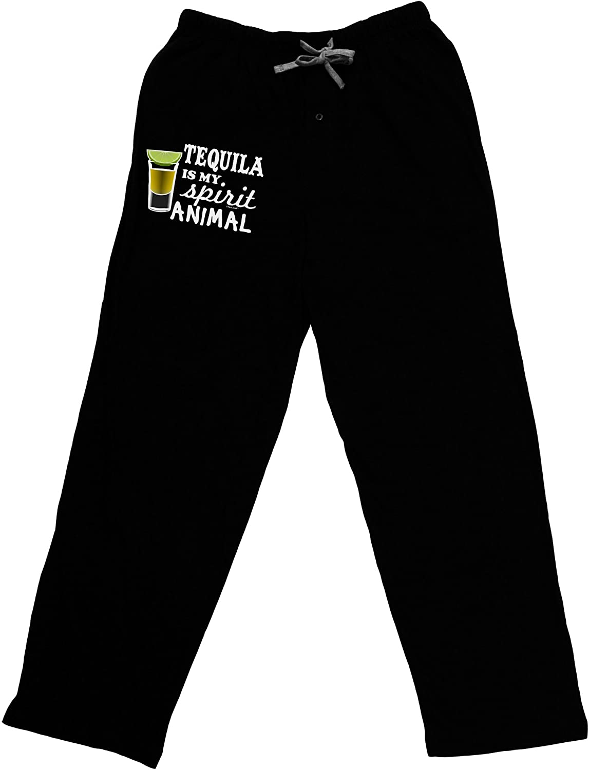 TOOLOUD Tequila is My Spirit Animal Adult Lounge Pants