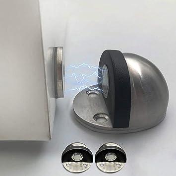 Magnetic Door Stainless Steel Magnetic Door Stop Stopper on the floor//wall mounted door stop