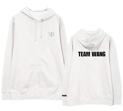 Kpop got7 Jackson Team Wang Same Printing Fleece/Thin Pullover Hoodies for i got7 Autumn Winter Unisex Sweatshirt at Amazon Womens Clothing store: