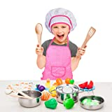 Kitchen Playset Accessories Toys - Stainless