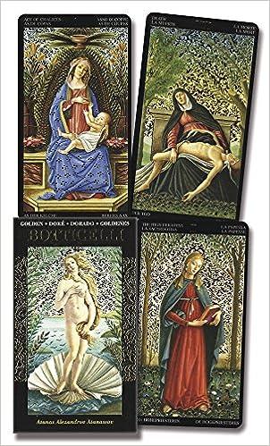 Golden Botticelli Tarot (English, Spanish, French, German ...