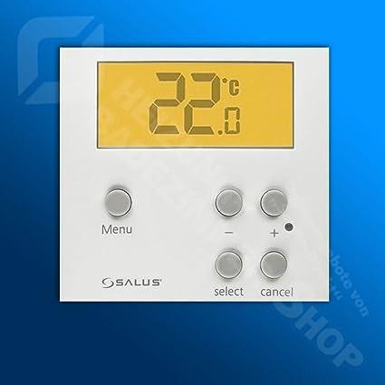 Salus Controls – Termostato para suelo radiante Salus ERT 50 rasante