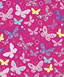 "Butterfly Gift Wrapping Roll 24"" X 16' - All Occasion Gift Wrap Paper"