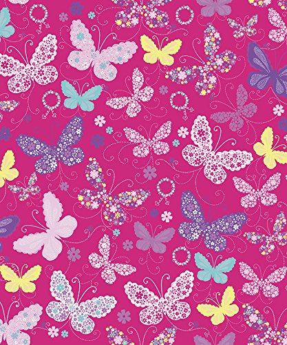 "Butterfly Gift Wrapping Roll 24"" X 16"