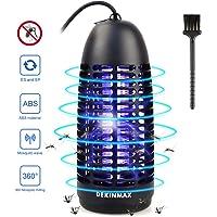 DEKINMAX Lámpara Anti Mosquitos, Trampa Insectos 6W UV