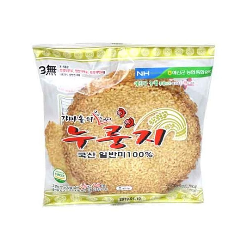 Scorched Rice200G Made of Korean Rice