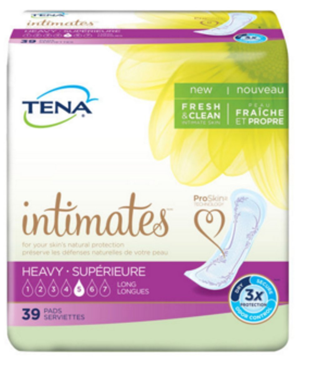 Amazon.com: TENA Heavy Long Pads - 15 Inch Pad, 117/Case: Health & Personal Care