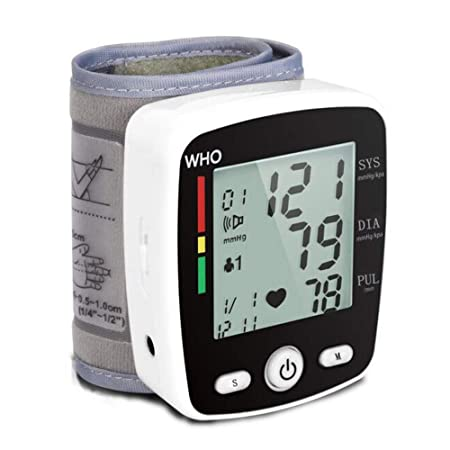 HBBXY Tensiómetros Automático Blood Pressure Monitor muñeca ...