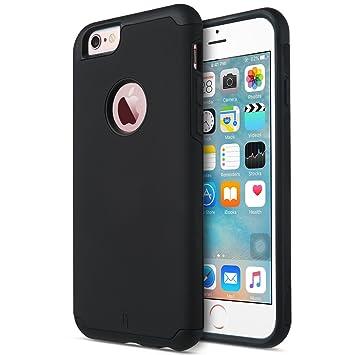 ULAK iPhone 6 Carcasa, iPhone 6S Funda Case Doble Capa hñbrida Delgado Prueba de Golpes Funda de Silicona para el Apple iPhone 6 / iPhone 6S 4,7 ...
