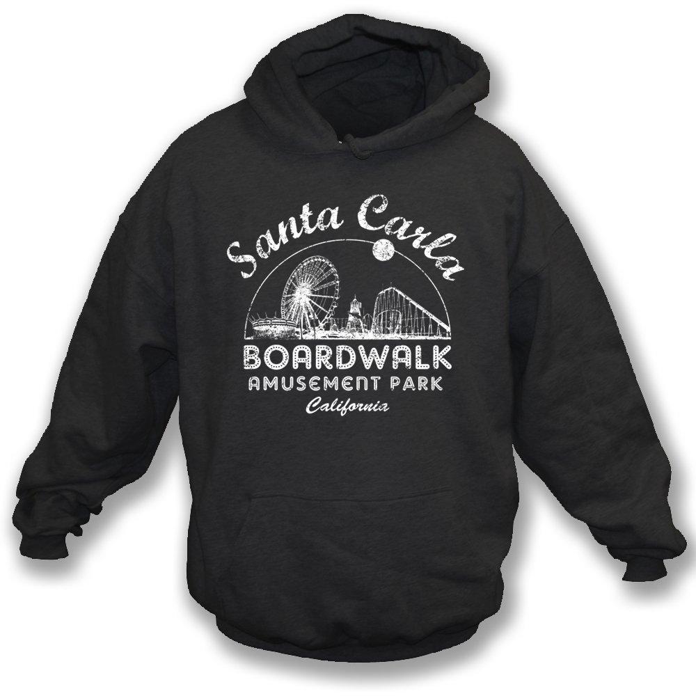 TshirtGrill Santa Carla Amusement Park Color Black Hooded Sweatshirt The Lost Boys