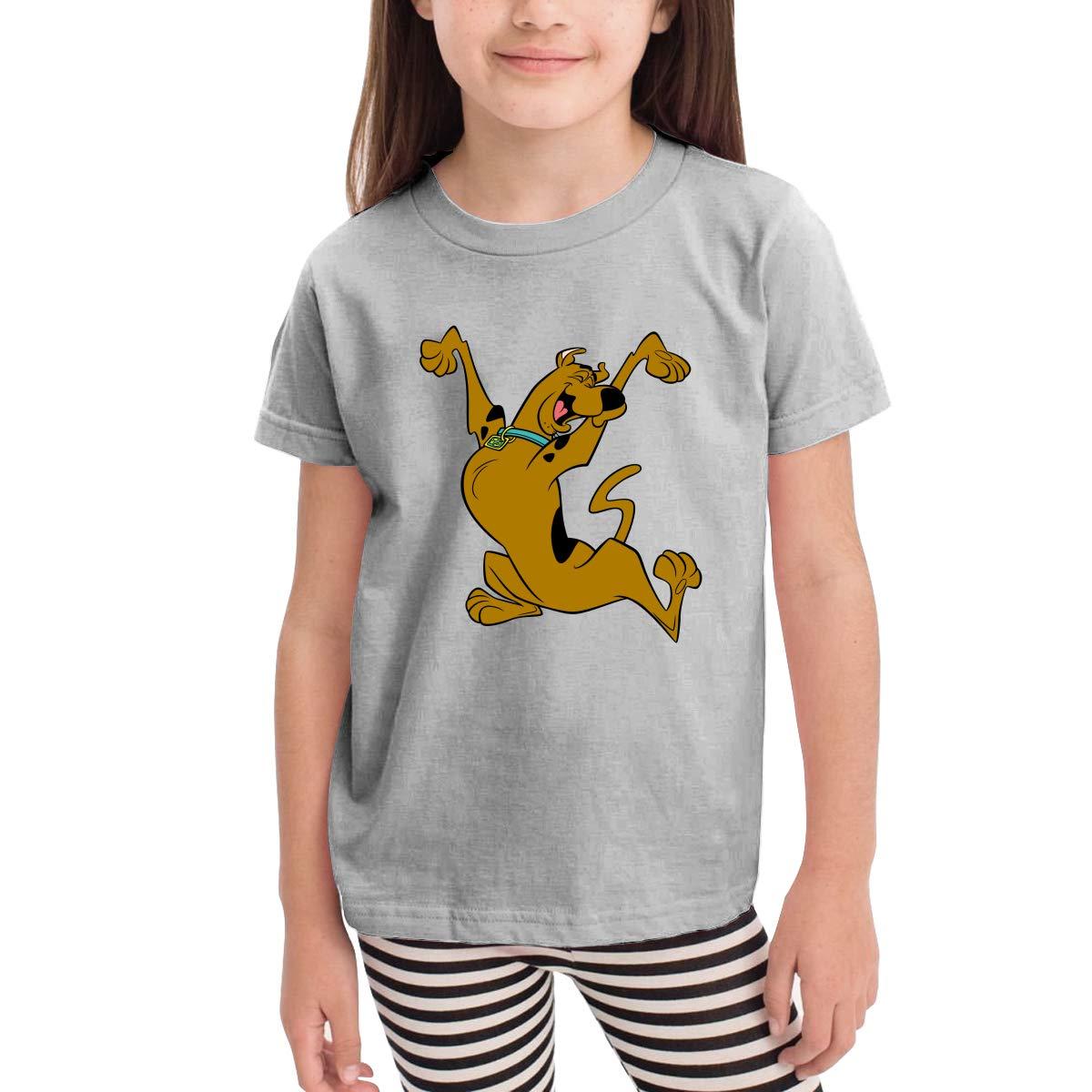 Scooby-doo Kids Crew Neck 100/% Soft Cotton Short Shirts Tees T-Shirts
