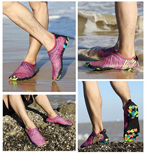 2 Neoprenschuhe Strandschuhe Schwimmschuhe Model Surfschuhe Herren für Wasserschuhe Rutschfeste Kinder Damen Aquaschuhe Badeschuhe aZqg7q
