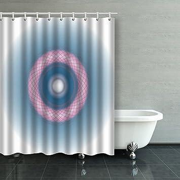Dusche Vorhänge Partikeln Leichte Draht Ring Modern Atomic ...