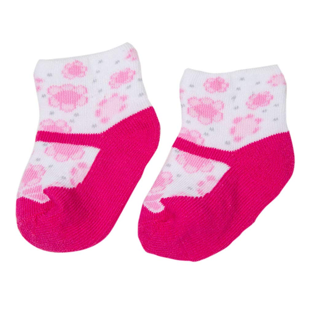 NACOLA Unisex Baby Newborn Cotton Socks for 0-6 Months,6 Pairs//Pack-Total 3 Pack