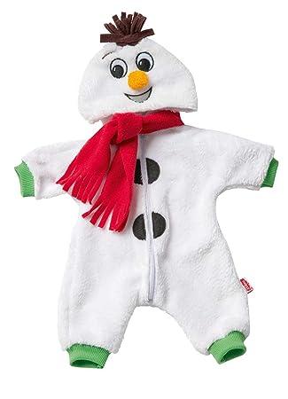 Amazon.es: Heless 1098 - Pelele para muñecas, kuscheliger Muñeco de Nieve, tamaño 28 - 35 cm: Juguetes y juegos