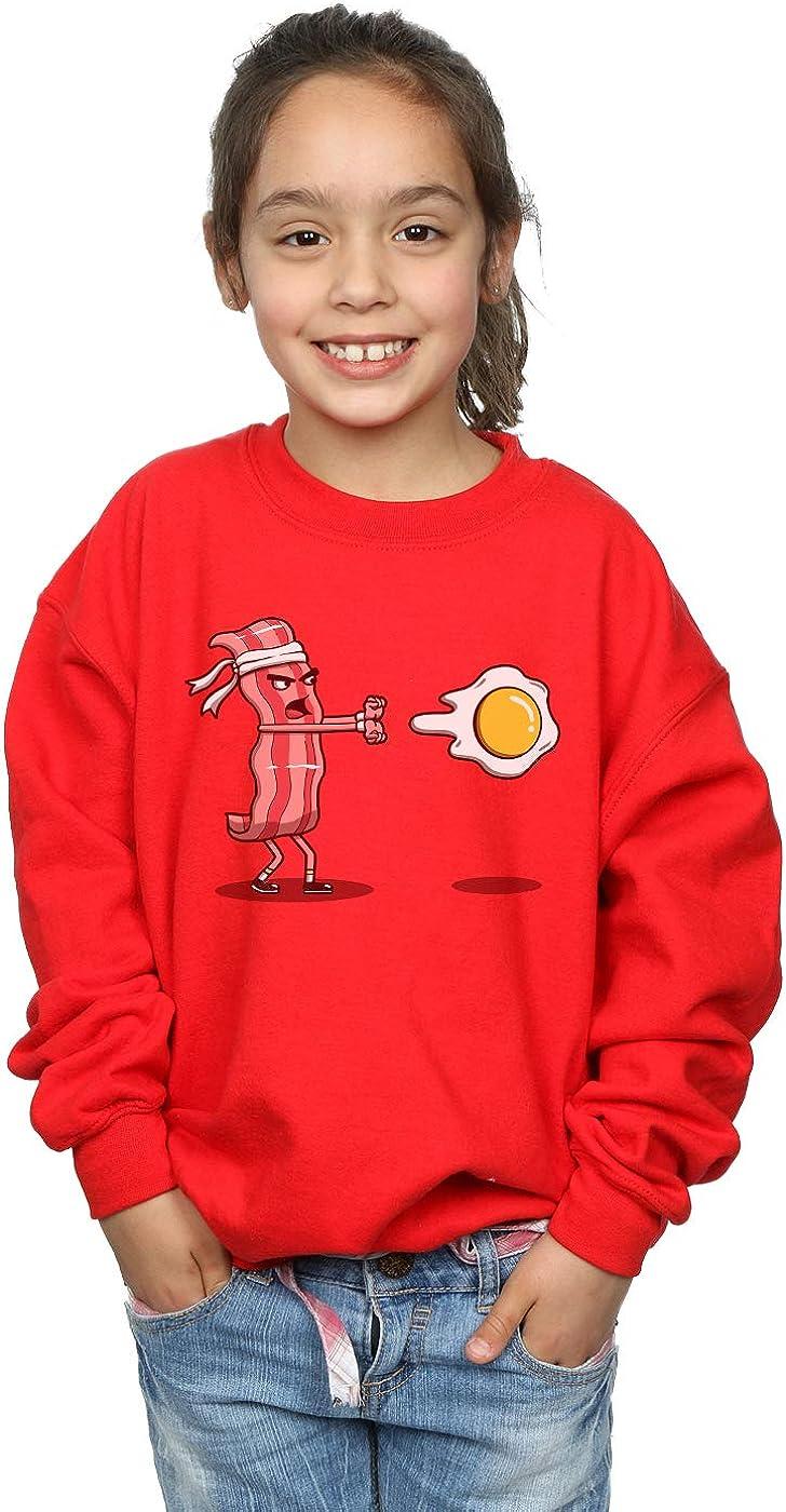 Vincent Trinidad Girls Bacon Fighter Sweatshirt