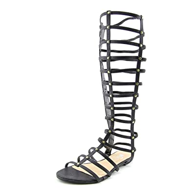 a7af4ae80 GC Shoes Raise-N-Nuts Gladiator Sandal Black Women s Size 7.5 M US  Amazon.co.uk   Shoes   Bags