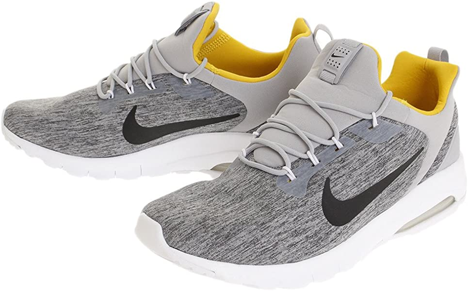 timeless design 8d02b 8e26a Nike Men s Air Max Motion Racer Shoe Wolf Grey Black-Vivid Sulfur (9