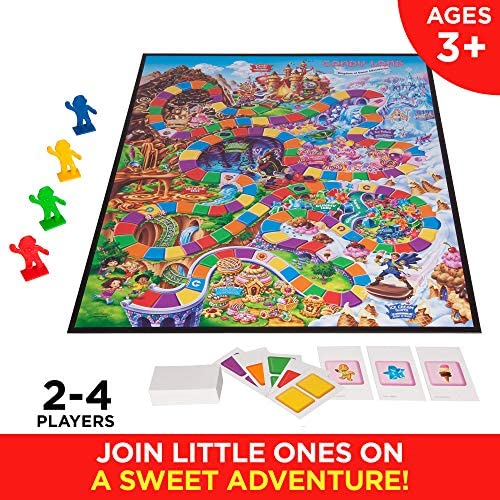 toys, games, games, accessories,  board games 11 picture Hasbro Gaming Candy Land Kingdom Of Sweet Adventures deals