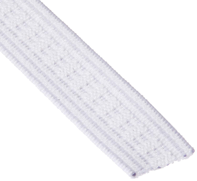 Dritz Notions 9505W Elastic Non Roll 1//2x4yd Wht