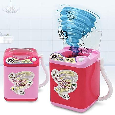 Yiwa - Muebles eléctricos para casa de muñecas de mini lavadora ...