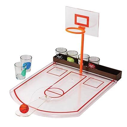 Superieur Fine Life Tabletop Mini Basketball Shot Glass Game Men College Students  Summer Fun