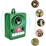 Cat repellent, Surenhap Ultrasonic Animal Repeller, Solar Powered repellent, Ultrasonic and Flashing LED lights, for Dogs, Cats, Foxes, Mice, Birds, Skunks