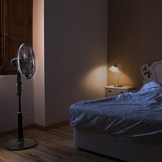 Cecotec ForceSilence 1020 ExtremeFlow Ventilador de pie, 40 cm/16