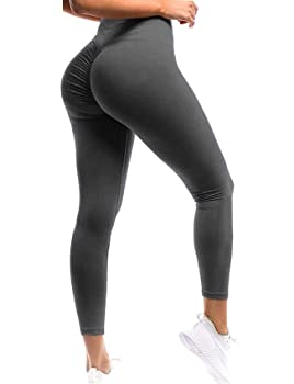 SEASUM Women Scrunch Butt Leggings
