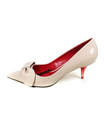 6ad41865f1c Zara Women Medium heel court shoes with bow 1207 301 - Multicoloured - 41  EU