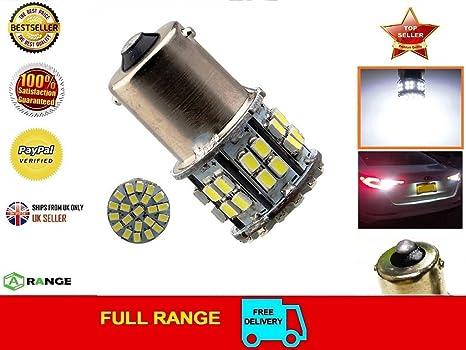 Bombilla LED de luz de freno de coche 1156 BA15S 382 1206 50-SMD 1