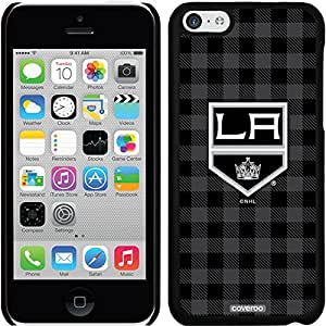 Coveroo iPhone 5 5s Black Thinshield Snap-On Case with Los Angeles Kings Plaid Design