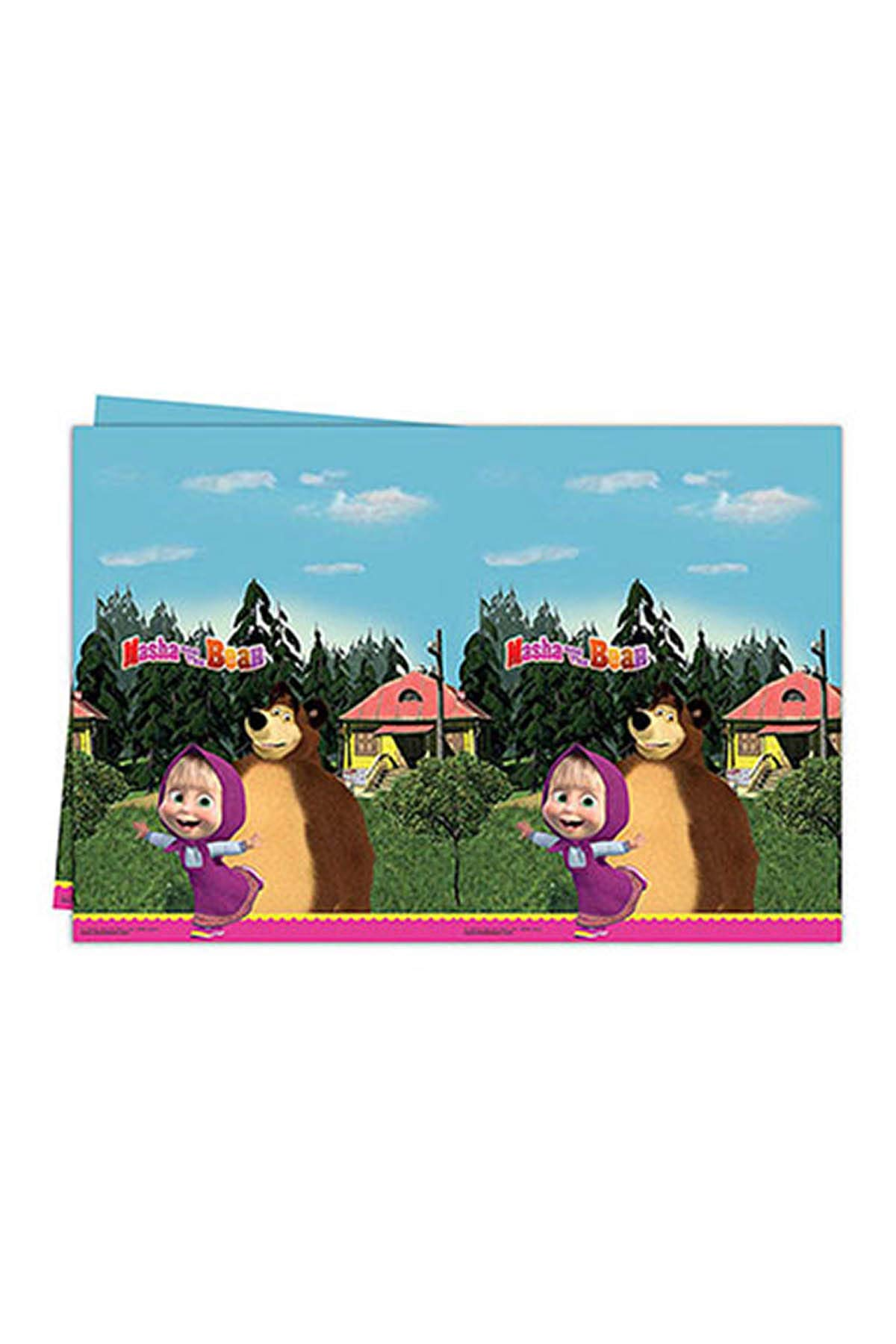 Masha and The Bear Table Cover by Masha and the Bear