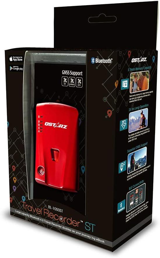 Qstarz BL-1000ST Bluetooth 4.0 BLE GNSS//GPS Receiver Data Logger